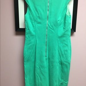 Green tahari dress